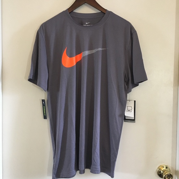 4e5a9188dc9af Nike Shirts | Men Drifit Training Legend 20 Split Swoosh | Poshmark